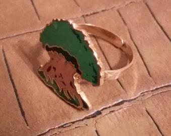 Repurposed Disney Pin Ring