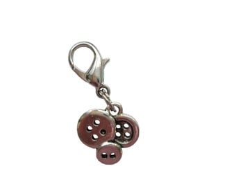 Button pendant of charms charm bracelet Exchange trailer 3D trailers