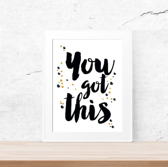 Items similar to you got this coworker gift motivational for Motivational quotes for office cubicle