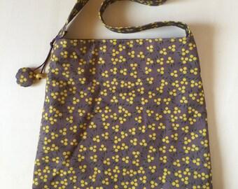 Yellow-yellow-purple bag purple ANEMONE/Borsa
