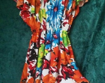 cute flower power summer dress