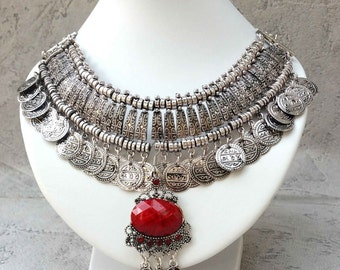 necklace Ethnic with the inspiration Bohemian