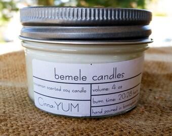 Cinna-YUM 4oz soy candle