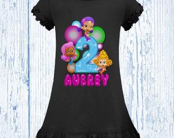 Bubble Guppies Birthday Shirt - Bubble Guppies Dress