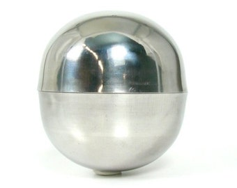 Bath Bomb Mold - Stainless Steel - Mondo - Huge - Large Size - DIY Bath Bombs - Molds - Metal