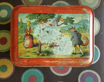 French biscuit tin from the 30's