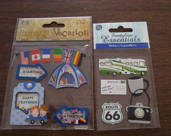vacation scrapbooking embellishments