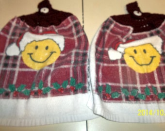Smiling Face Towels