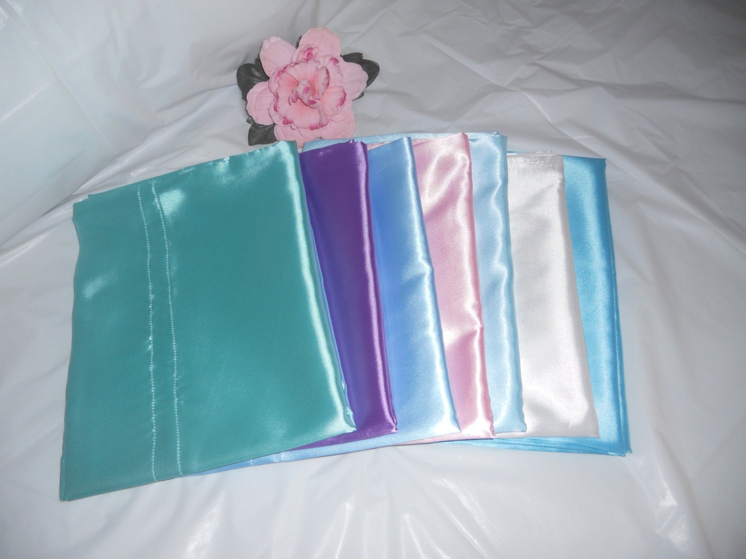 Standard Size Satin Pillow Case 21x32
