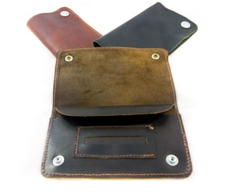 LEATHER TOBACCO POUCH (50g capacity)