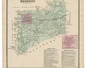 Kennett, PA Witmer 1873 M...