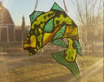 Sun Catcher / Stained Glass Bass
