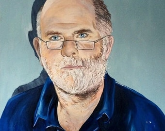 Personalised Oil on Canvas Portrait Commission