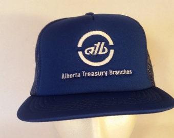 Alberta Treasury Branches Vintage hat.
