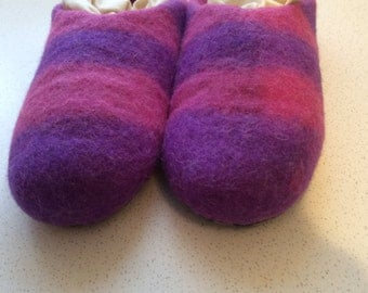 Felted Slippers SIZE 6 TO 66.5