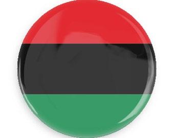 Black Liberation Flag Button