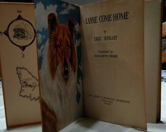Vintage Lassie Come-Home Children's Book