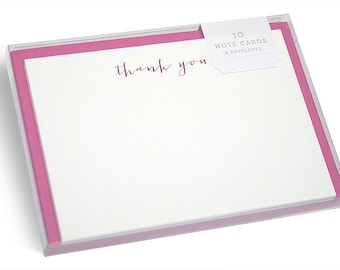 Carmen Hot Foil Thank You Cards