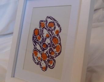 Digital Drawing - Framed Print #7