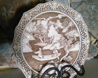 Ivory Dynasty Plate