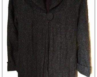 Mantle dark grey tweed BRT5002 for women, size 40