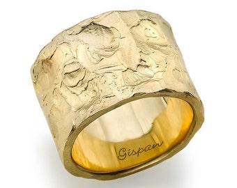 antique wedding ring yellow gold wedding band unisex wedding ring wedding ring men - Wedding Ring Men