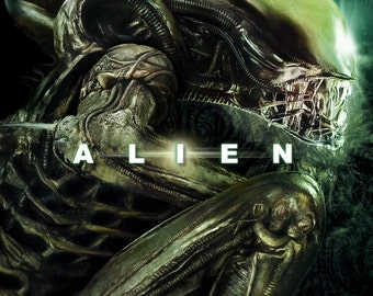 AlienLarge A1 Poster