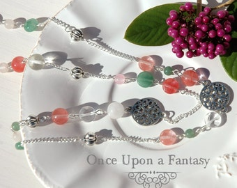 Necklace fall colors - fall 2015 Once Upon a Fantasy