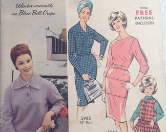 Australian Home Journal. May 1963. Knitting. Sewing Pattern.