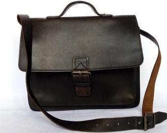 Vintage Leather Bag Ruitertassen
