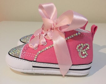 Baby Rhinestone Converse Shoes