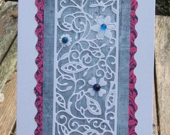 Flower Panel Card (139)