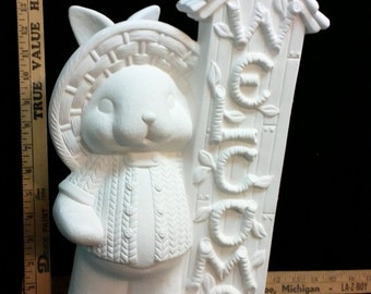 Ceramic Easter Bunny Welcome