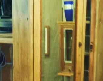 Mirrored Vintage Cabinet