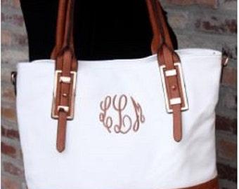 Monogrammed Remington Tote - Ladies Handbag