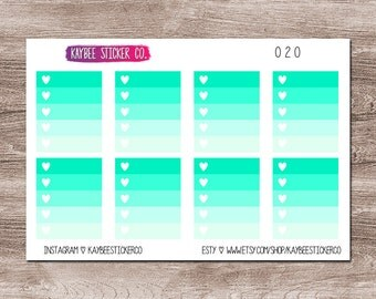 020 - Teal Ombre Full Boxes