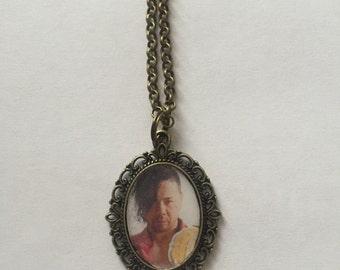 Shinsuke Nakamura Bronze Cameo Necklace