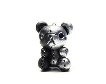 Rilakkuma Two Sided Bear Polymer Clay Charm
