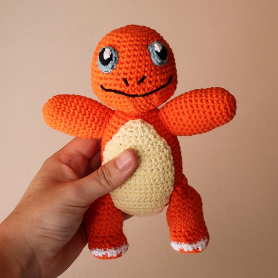 Charmander - Pokemon. Amigurumi Pattern PDF.