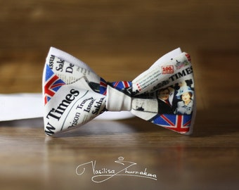 The Times newspaper Bow tie - Bowtie