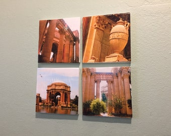 Canvas photo wall hanging - Palace of Fine Arts