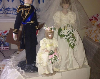 The Royal Wedding Vintage Doll Set