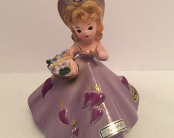 Vintage Josef Original Birthday Girl Figurine