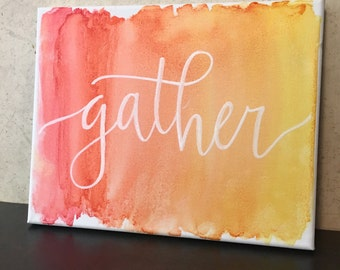 Gather in Watercolor