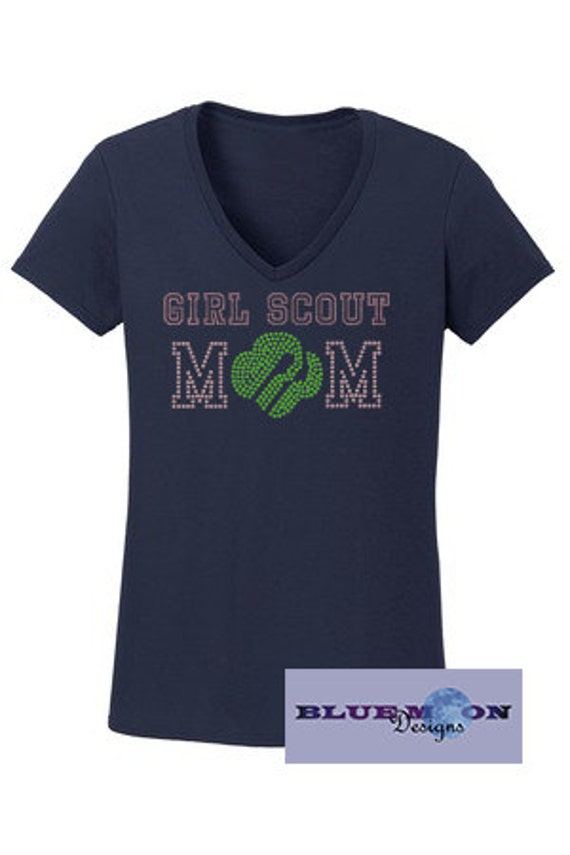 Girl Scout Mom T Shirt Made To Order By Bluemoondesigns4u
