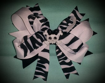 4' Funky stacked bow