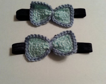 Diaper Cover with Suspenders and Bow Tie Set