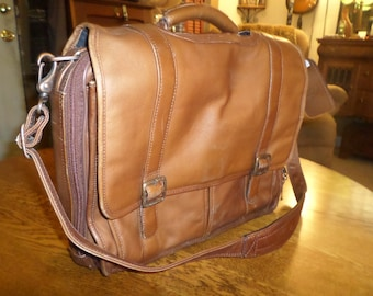 Leather Messenger bag/Laptop bag