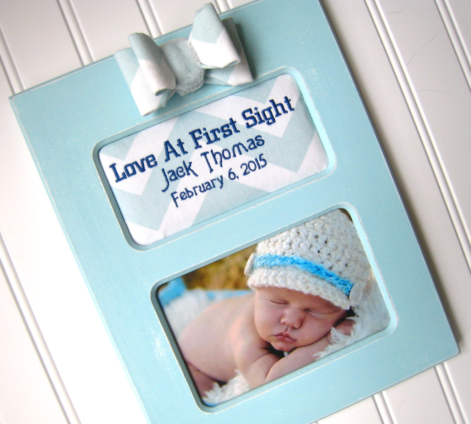 Custom baby boy picture frame baby shower gift ultrasound frame 4100 jeuxipadfo Images