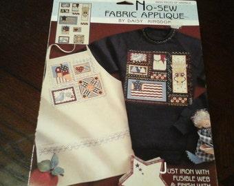 No Sew Fabric Applique  by Daisy Kingdom